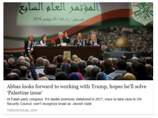 abbas-looks-forward-to-working-with-trump-hopes-hell-solve-palestine-issue-times-of-israel