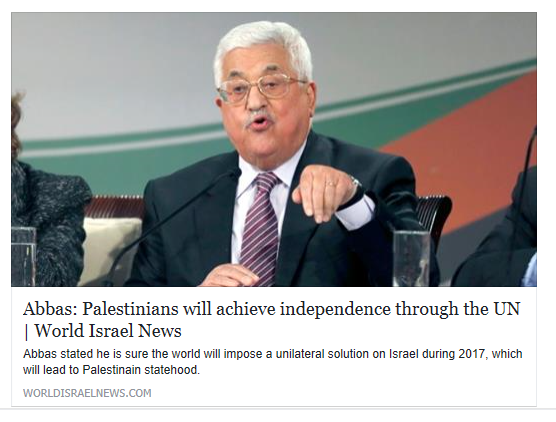 abbas-palestinians-will-achieve-independence-through-the-un-world-israel-news
