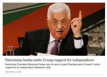 palestinian-leader-seeks-trump-support-for-independence-ynet