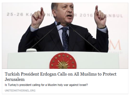 turkish-president-erdogan-calls-on-all-muslims-to-protect-jerusalem-united-with-israel